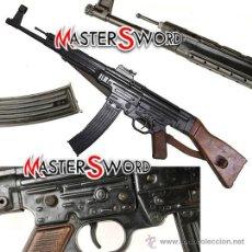 Militaria: FUSIL ALEMAN 1943 MOD. STURMGEWEHR STG 44 - CALIBRE 7,92MM CULATA MADERA + CORREA. 93 CMS. Lote 30647075