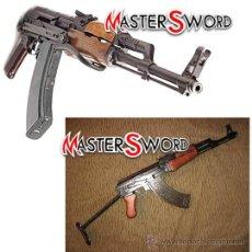Militaria: FUSIL KALASHNIKOV RUSO AK47 EJERCITO ROJO. 88 CMS ** CULATA ABATIBLE. Lote 30770744