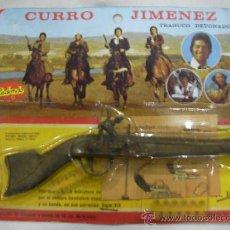 Militaria: ANTIGUO BLISTER CON TRABUCO DETONADOR DE CURRO JIMENEZ NUEVO PRECINTADO. Lote 31742842