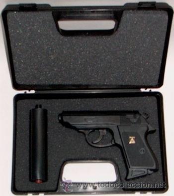 Réplica de juguete pistola James Bond 007 Walther ppk, usado segunda mano