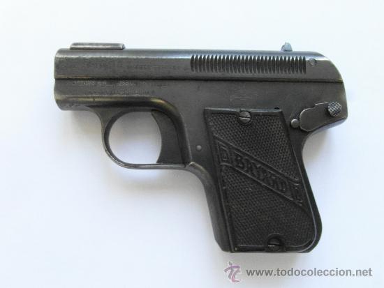 PISTOLA BELGA BAYARD MODELO 1908 . CALIBRE 380. (Militar - Armas de Fuego Inutilizadas)