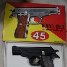 Militaria: ANTIGUO COLT AUTOMATICO 45 EN SU CAJA. Lote 32698666
