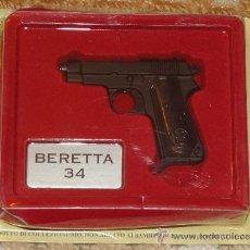 Militaria: BONITA REPLICA ARMA DE FUEGO. BERETTA 34. PISTOLA SEMIAUTOMÁTICA ITALIA SEGUNDA GUERRA MUNDIAL. . Lote 32816483