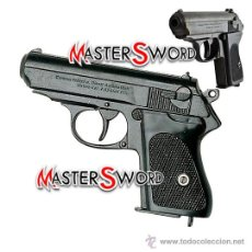 Militaria: PISTOLA ALEMANA WAFFEN SS WALTHER PPK CALIBRE 7-63 MM. 15,5 CMS. Lote 72781139