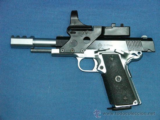 PISTOLA NORINCO NP28 IPSC DE CARMELO CASTILLO (Militar - Armas de Fuego en Uso)