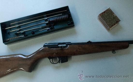 Carabina  22 checoslovaca brno 581 / cz 511 - Vendido en