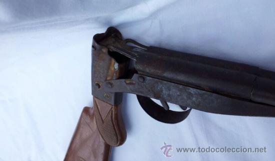 Militaria: Escopeta de juguete antigua marca JEFE años 50 aproxi. - Foto 5 - 39161522