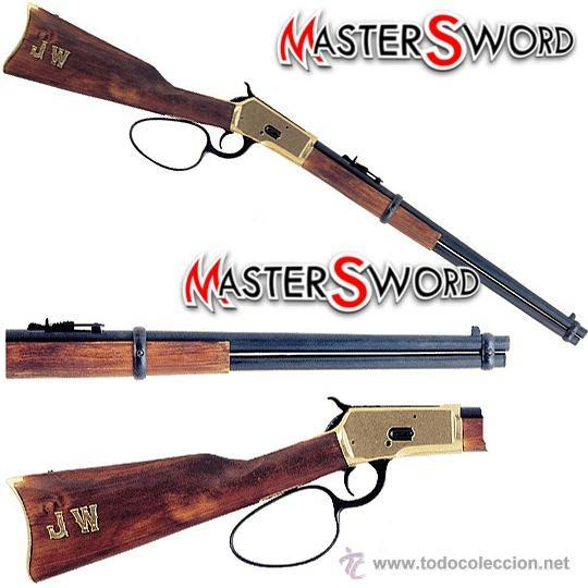 RIFLE CARABINA WINCHESTER 92 JOHN WAYNE ACCION BROWNING 1892 EE.UU. 94 CMS (Militar - Réplicas de Armas de Fuego y CO2 )