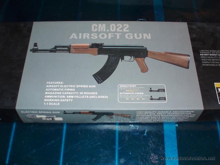Cm022 ak-47 rifle fps-200 electric airsoft gun - Sold