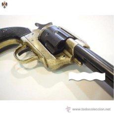 Militaria: REVOLVER PEACEMAKER COLT 45 PAVONADO EE.UU AÑO 1873. 35 CMS ** CAÑON LARGO. Lote 46838418