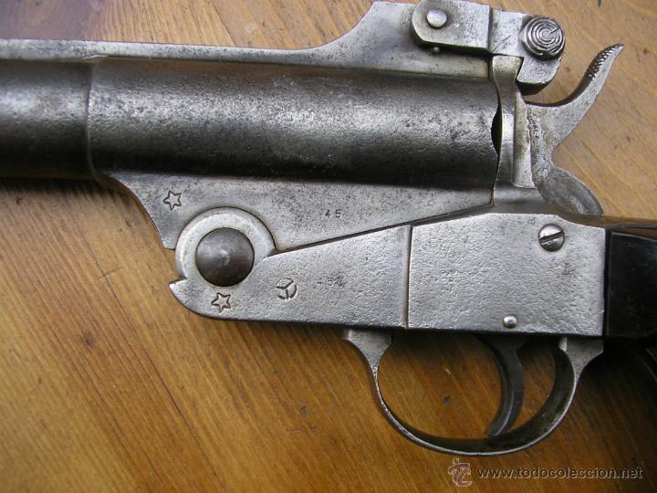 Militaria: PISTOLA DE SEÑALES MODELO 1921 ESPERANZA Y UNCETA GUERNICA ESPAÑA,NECESARIO LIBRO DEL COLECCIONISTA - Foto 19 - 47672739