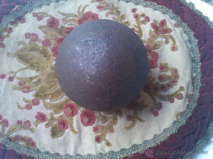 Militaria: grande y pesada bola de cañon - Foto 2 - 47722837