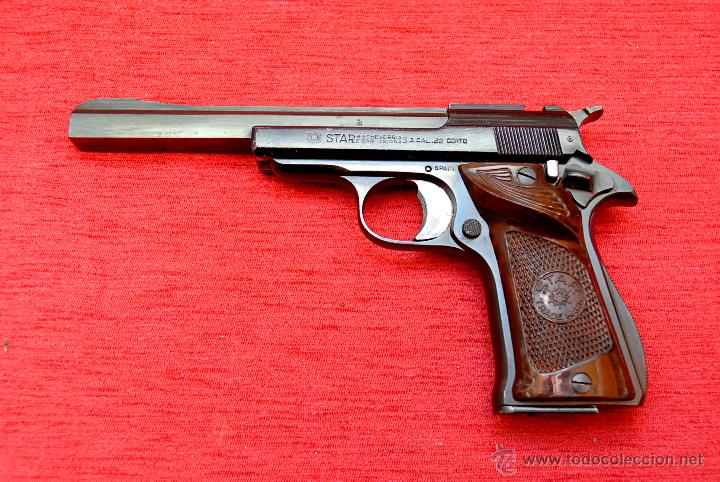 Pistola star inutilizada comprar armas de fuego antiguas for Pistola para lacar muebles precio
