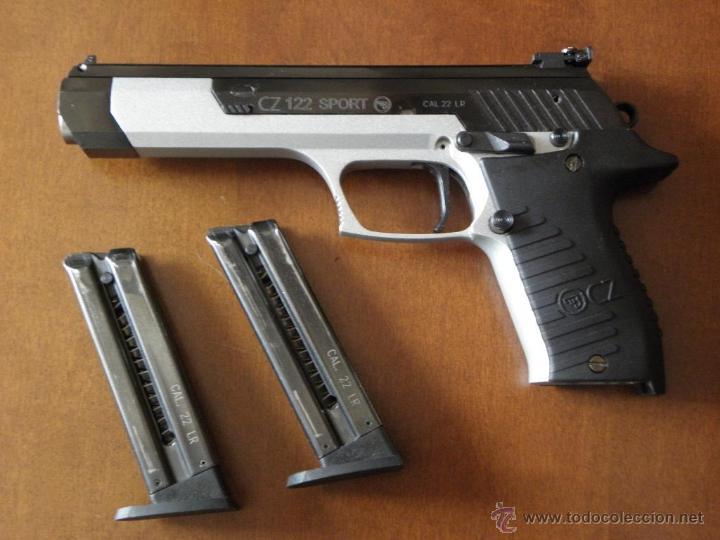 PISTOLA CZ 122 SPORT CON 2 CARGADORES (Militar - Armas de Fuego en Uso)