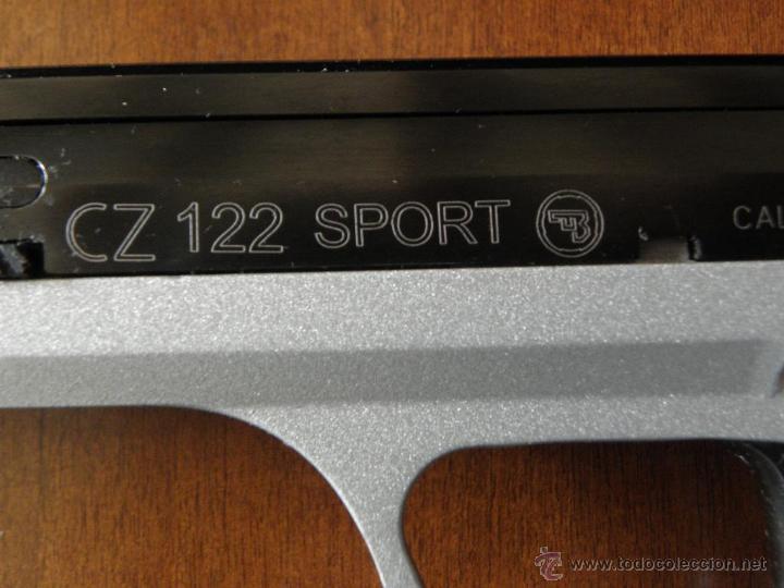 Militaria: Pistola CZ 122 Sport con 2 cargadores - Foto 2 - 192205273