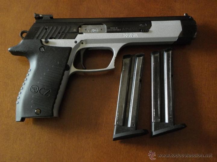 Militaria: Pistola CZ 122 Sport con 2 cargadores - Foto 3 - 192205273