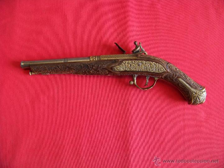 Militaria: pistola de pedernal - Foto 2 - 48338247