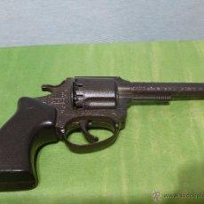 Militaria - Antigua pistola-revólver de juguete Marca Dyal - MADE IN SPAIN - FULMINANTES - BUEN ESTADO - 48358909