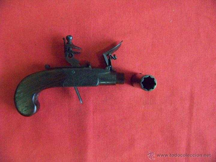 Militaria: pistola de pedernal - Foto 6 - 48454269