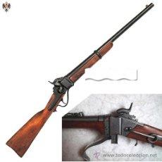 Militaria: RIFLE CARABINA MILITAR SHARPS 1859 EJERCITO DE LA UNION. 101 CMS. Lote 99788592
