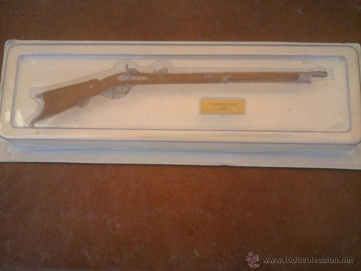 BONITA REPLICA ARMA DE FUEGO. CARABINA SUIZA.1851. (Militar - Réplicas de Armas de Fuego y CO2 )