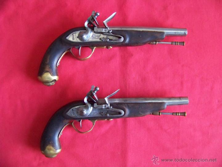 PISTOLA,PISTOLAS DE PEDERNAL (Militar - Armas de Fuego de Avancarga y Complementos)