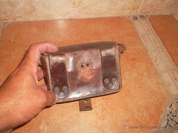 Militaria: bonita cartucherra antigua - Foto 2 - 50519798