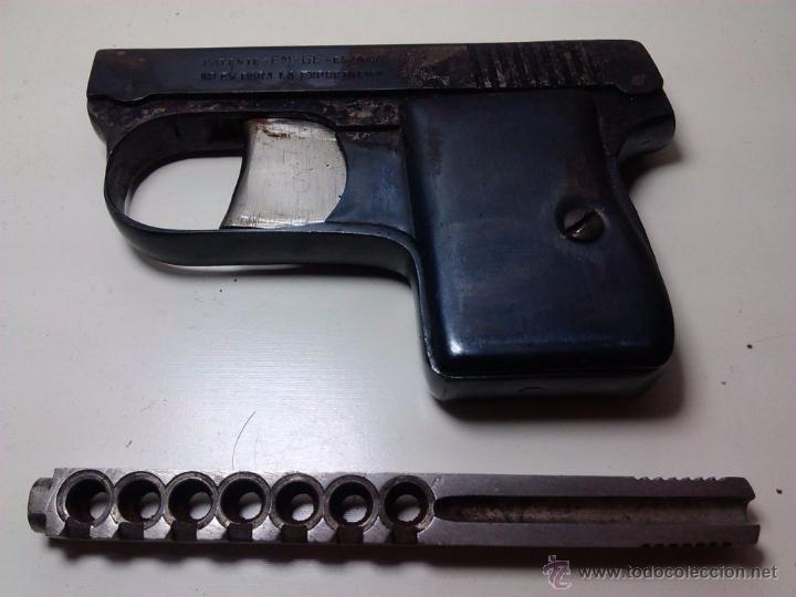 Militaria: Lote pistola Cometa Central años 40 - EM GE (espantaperros) - Foto 2 - 205342468