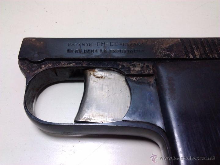 Militaria: Pistola Cometa Central años 40 - EM GE (espantaperros) - Foto 4 - 205342468