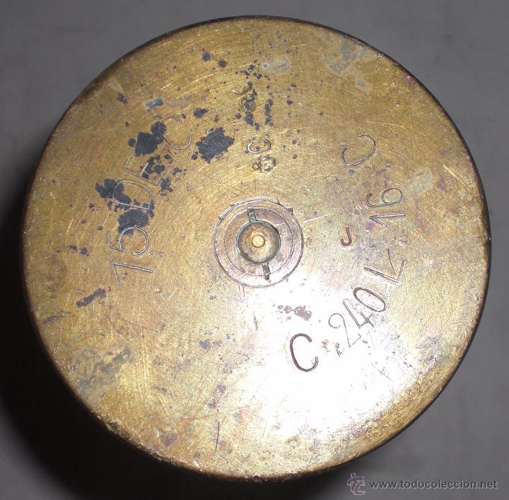 Militaria: Vaina de 75 mm guerra civil - Foto 2 - 51226842