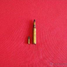 Militaria: 30-06 SPRINGFIELD,7,62 X 63(PERFORANTE),INERTE. Lote 51239247