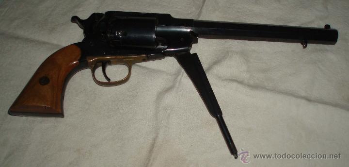 Militaria: revolver avancarga remington calibre 44 con guia de pertenencia AE - Foto 3 - 148344946