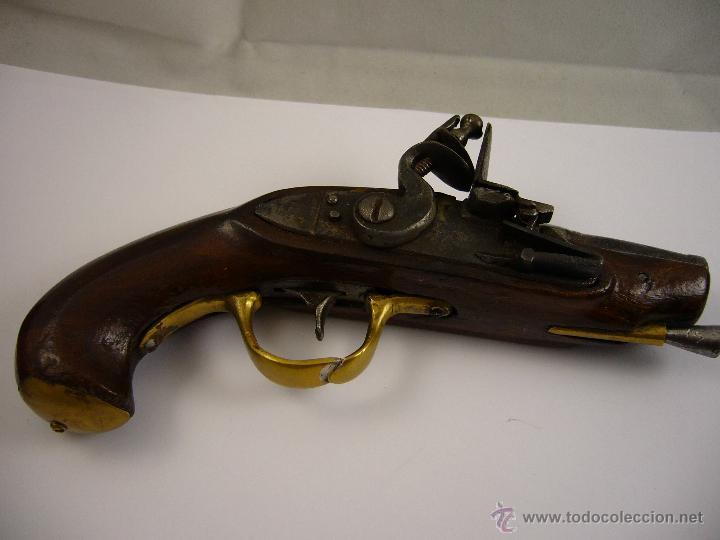 Militaria: Pistola De Pedernal - Foto 4 - 124600674