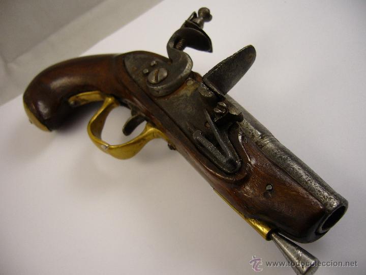 Militaria: Pistola De Pedernal - Foto 15 - 124600674
