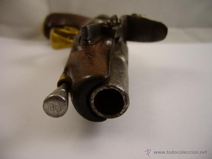 Militaria: Pistola De Pedernal - Foto 17 - 124600674