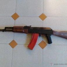 Militaria: FUSIL AK 47 MUNICIÓN DE BOLAS.. Lote 118405000