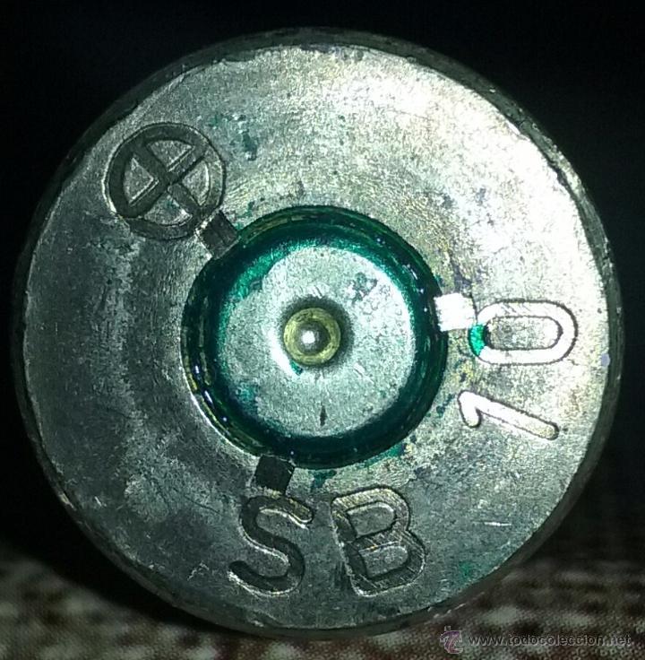 Militaria: CINTA PARA AMETRALLADORA BROWNING. INERTE - Foto 3 - 119483696