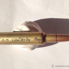 Militaria: CARTUCHO 7 MM WEATHERBY MAGNUN. INERTE. Lote 53912058