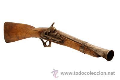TRABUCO ESPAÑOL SIGLO XIX (Militar - Armas de Fuego de Avancarga y Complementos)