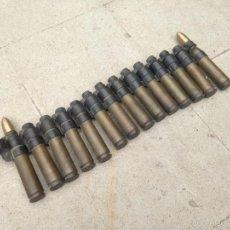 Militaria: RISTRA CARTUCHOS CAZA BOMBARDERO ESPAÑOL EJERCITO DEL AIRE. Lote 58504504