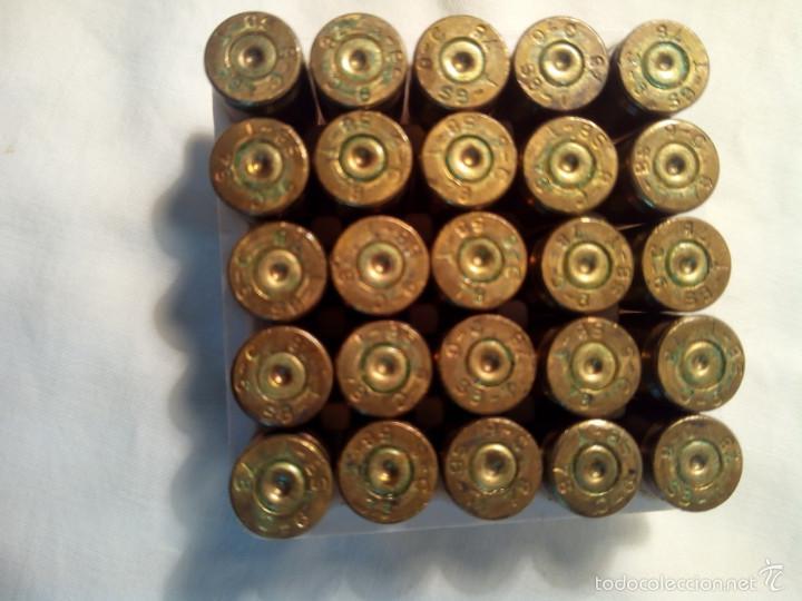 Militaria: Caja de cartuchos Santa Barbara del 9 corto - Foto 2 - 221435721