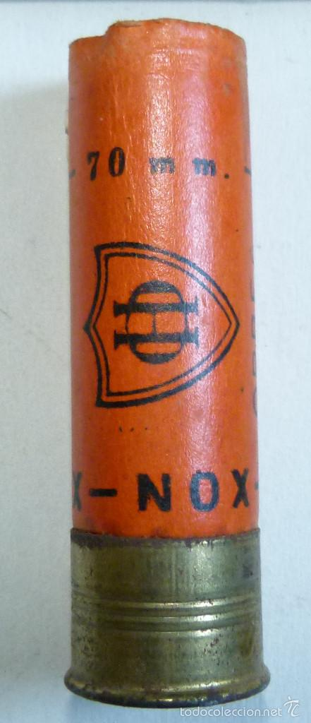 CARTUCHO DE CAZA DE CARTON CALIBRE 12 ORBEA NOX DE 70 MM INERTE (Militar - Cartuchería y Munición)