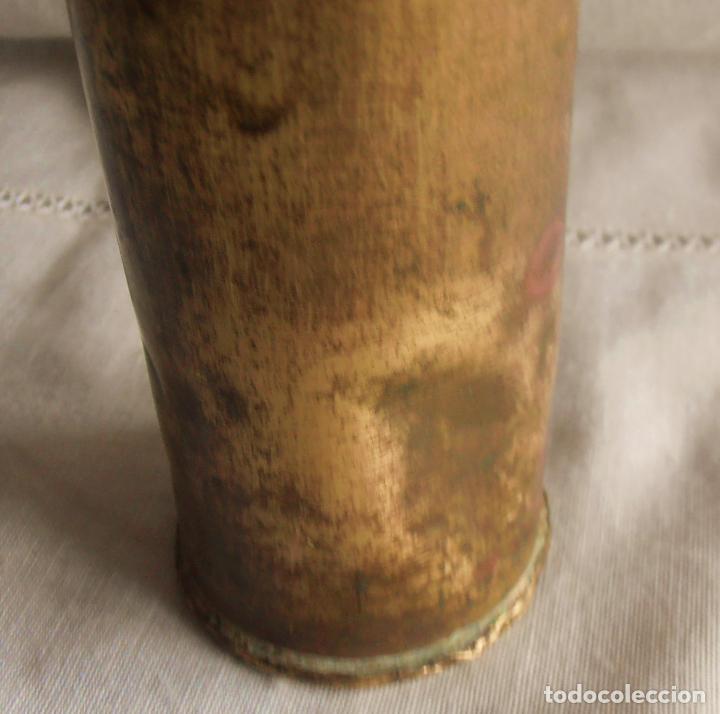 Militaria: CARCASA, VAINA DEL EJERCITO , 31 CM DE ALTO - Foto 2 - 62810788