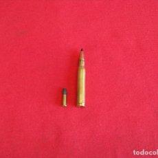 Militaria: 30-06 SPRINGFIELD,7,62 X 63(PERFORANTE),INERTE. Lote 65321163