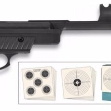 Militaria: KIT PISTOLA AIRE COMP. MOD. 25 CAL. 4.5 35346. Lote 260646795