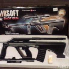 Militaria: FUSIL,ESCOPETA,PISTOLA DE BALINES.AIRSOFT SHOT GUN.. Lote 85370908
