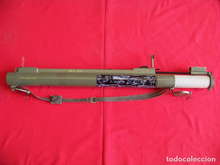 LANZAGRANADAS,LANZACOHETES,INERTE (Militar - Armas de Fuego Inutilizadas)