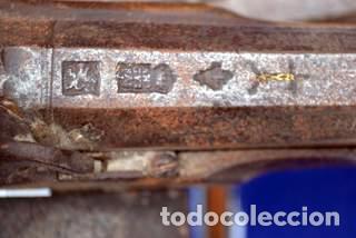 Militaria: ESCOPETA DE CHISPA ESPAÑOLA CON PUNZONES DE ARMERO. EIBAR 1821 - Foto 2 - 81214188