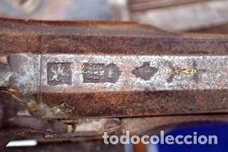 Militaria: ESCOPETA DE CHISPA ESPAÑOLA CON PUNZONES DE ARMERO. EIBAR 1821 - Foto 4 - 81214188