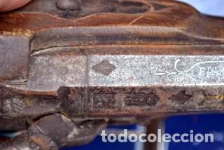 Militaria: ESCOPETA DE CHISPA ESPAÑOLA CON PUNZONES DE ARMERO. EIBAR 1821 - Foto 5 - 81214188